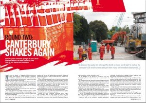 Contractor Magazine April 2011 Cantebury Earthquake Article