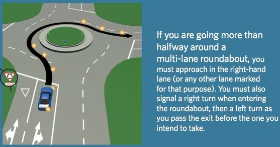 Know your way around roundabouts
