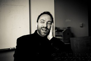 Jimmy Wales Black and White