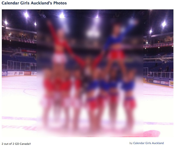 Calendar Girls Cheerleaders Facebook