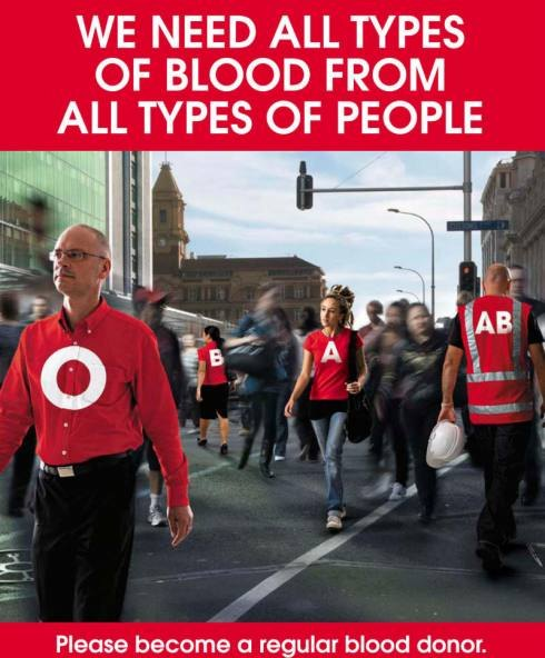 Red Cross Blood Ad
