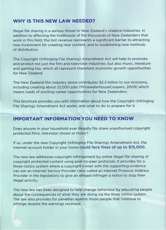 Respect Copyrights leaflet 2