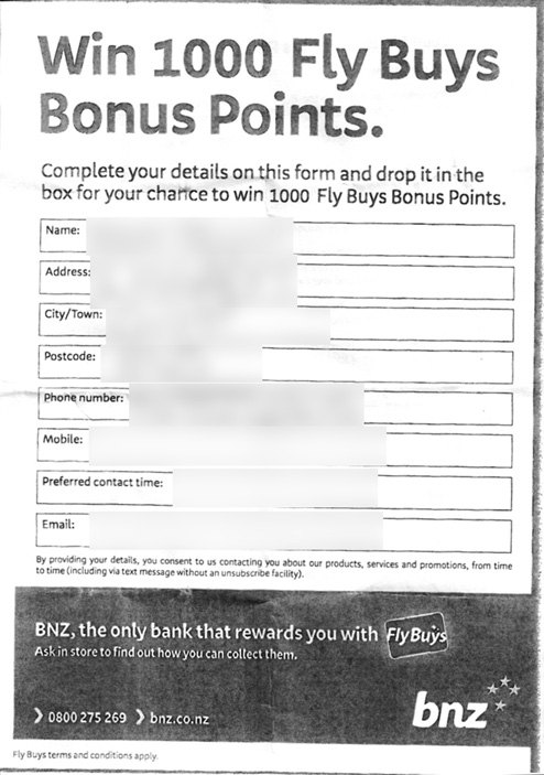 BNZ win with Fly Buys