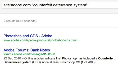 Adobe search CDS