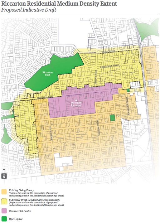 Christchurch City Council 2014 District Plan Review Riccarton Map